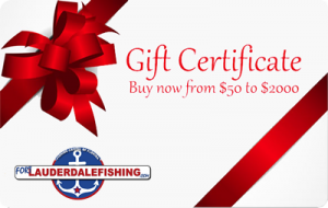 Fort Lauderdale Fishing Gift Card